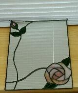 バラの鏡の画像