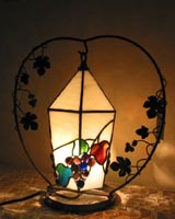 ぶどう吊り下げランプの画像