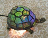 亀ランプの画像
