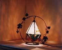 桜吊り下げランプの画像