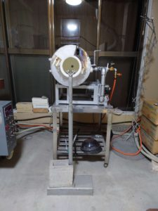 吹きガラス用のガラス形成用の焼成炉
