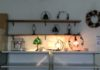 マイスタジオのステンドグラス飾り棚