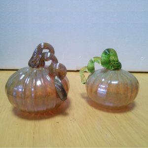 ガラスのかぼちゃ